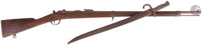 Fusil d'infanterie Chassepot modèle 1866....