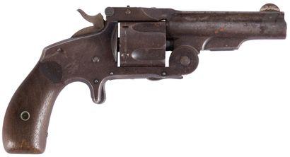 Revolver Smith & Wesson, cinq coups, calibre...