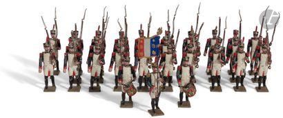 LUCOTTE CBG INFANTERIE DE LIGNE 27 fusiliers...