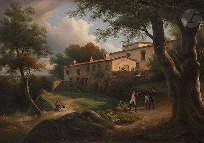Augustin Thomas PHILIPPE (1797-1876) Vue...