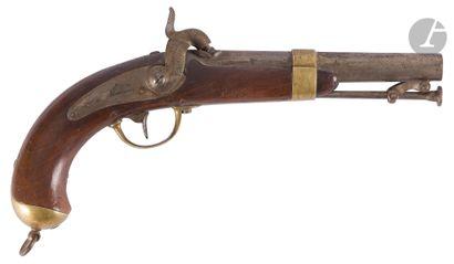 Pistolet de marine à percussion modèle 1837-42....
