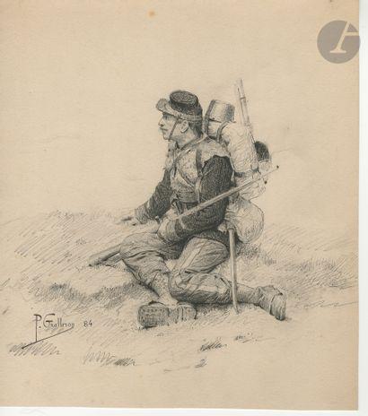 Paul Narcisse GROLLERON (1848-1901) Mobile...