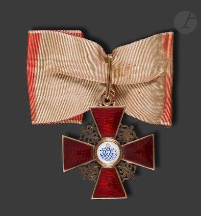 RUSSIE ORDRE DE SAINTE ANNE, créé en 1735....