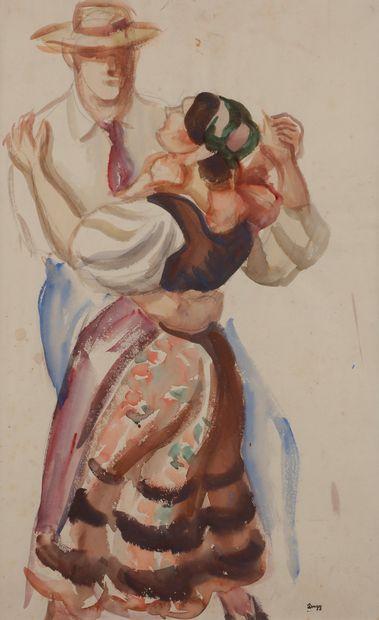 Jules-Emile ZINGG (1882-1942)  La Danse à...