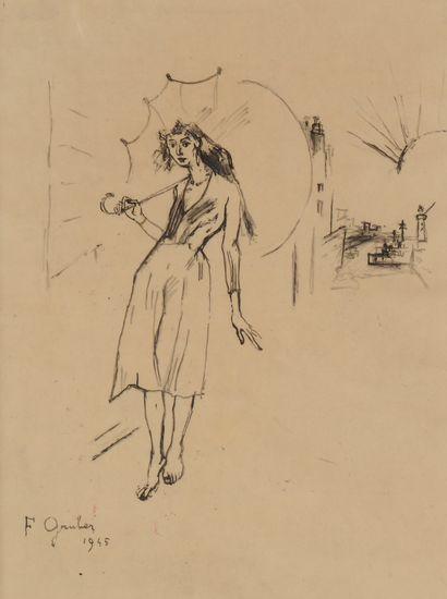 Francis GRUBER (1912-1948) La Belle Dorothée,...