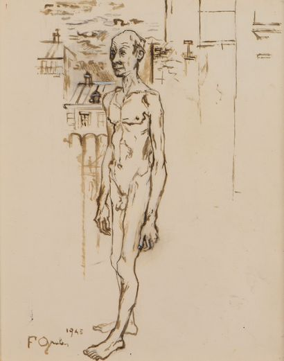 Francis GRUBER (1912-1948) L'Etranger, 1945 ...