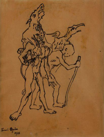 Francis GRUBER (1912-1948) Chacun sa chimère,...