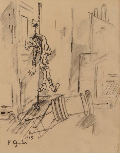 Francis GRUBER (1912-1948) La Corde, 1945...
