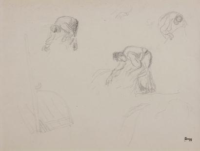 Jules-Emile ZINGG (1882-1942)  Etudes d'homme...