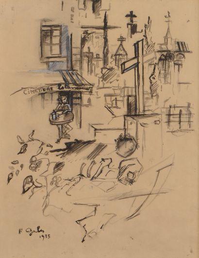 Francis GRUBER (1912-1948) Le Tir et le...
