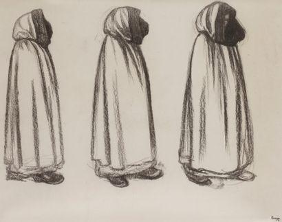 Jules-Emile ZINGG (1882-1942)  Les Pénitents...