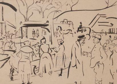 Jules-Emile ZINGG (1882-1942)  Animation...