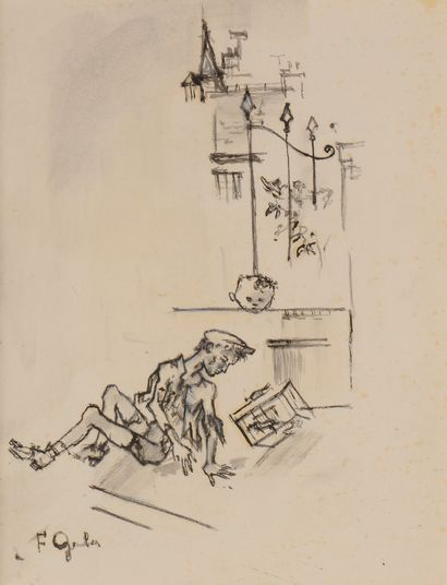 Francis GRUBER (1912-1948) Le Joujou du...