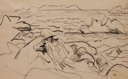 Jules-Emile ZINGG (1882-1942)  Elégante et...