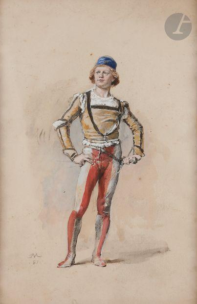 Jean-Louis-Ernest MEISSONIER (1815-1891)...