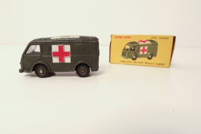 DINKY TOYS  Ambulance Militaire Renault-Carrier,...