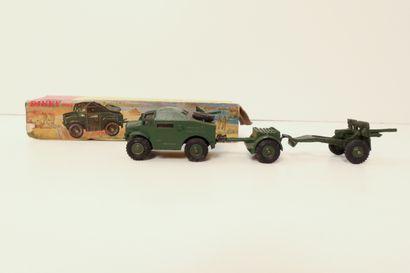 DINKY TOYS  25 Pounder field gun set, ref....