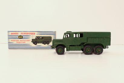 DINKY SUPERTOYS  Medium artillery tractor,...