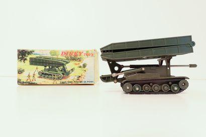 DINKY TOYS  Char AMX poseur de pont, pont...
