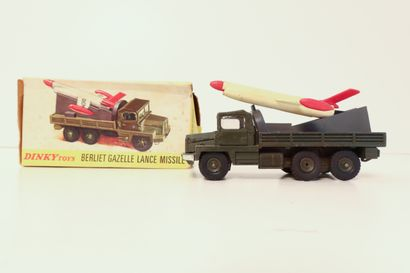 DINKY TOYS  Berliet gazelle lance missile,...