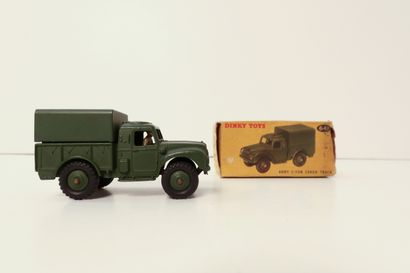 DINKY TOYS  Army I-Ton cargo truck, ref....