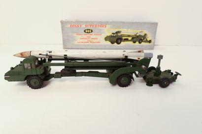 DINKY SUPERTOYS  Missile erecting vehicule...
