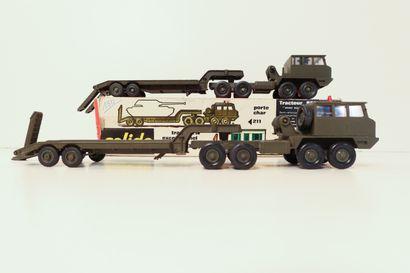SOLIDO Ensemble de 2 portes-char militaires...
