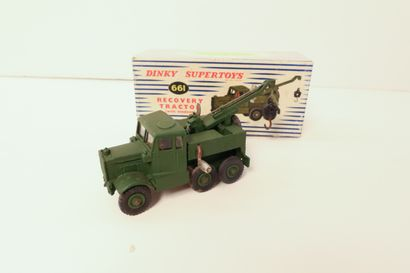 DINKY SUPERTOYS  Recovery tractor, avec vitres,...