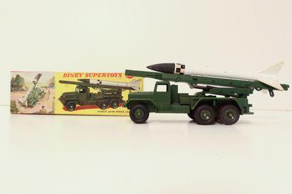 DINKY TOYS  Honest John missile launcher,...