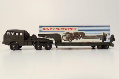 DINKY SUPERTOYS  Tracteur Berliet, avec vitres,...