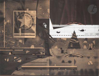 ASSADOUR (Liban-France, né en 1943) L'arc...