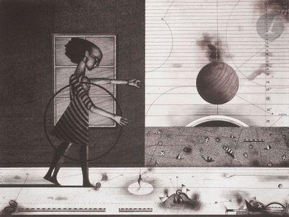 ASSADOUR (Liban-France, né en 1943) Jeux,...