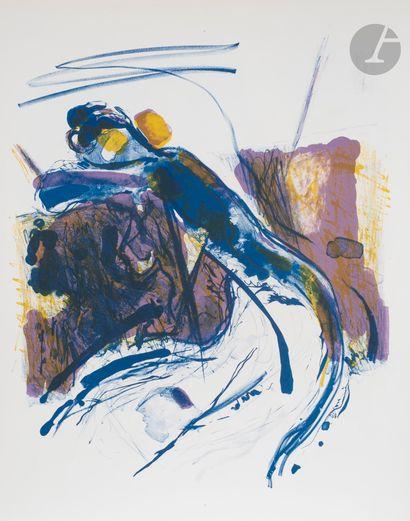 Shafic ABBOUD (Liban-France, 1926-2004) La...