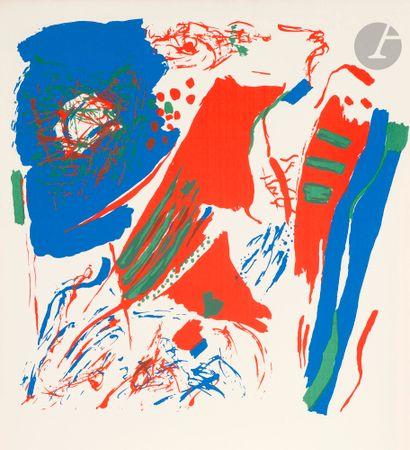 Shafic ABBOUD (Liban-France, 1926-2004) Couleurs...