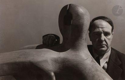 Arnold Newman (1918-2006) Portrait d'Henry...