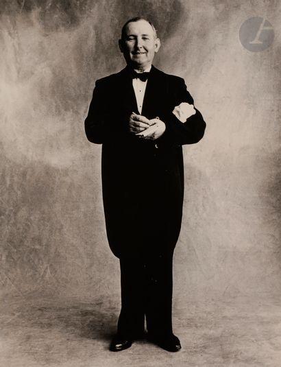 *Irving Penn (1917-2009) Maître d'hôtel (Larue)....
