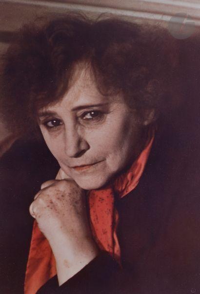 Gisèle Freund (1908-2 000) Colette. Paris,...