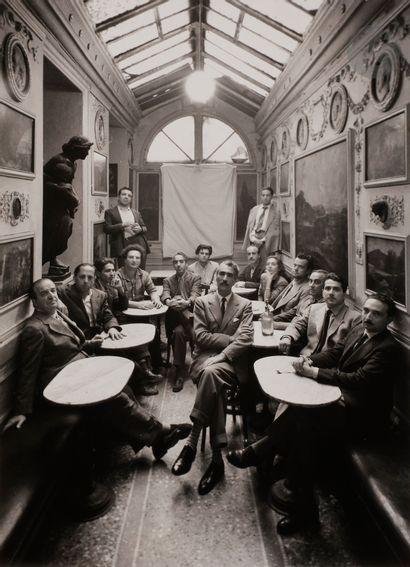*Irving Penn (1917-2009) Groupe d'intellectuels...