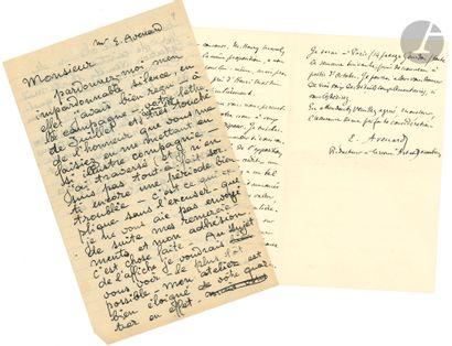 Théophile Alexandre STEINLEN. L.A., [automne...