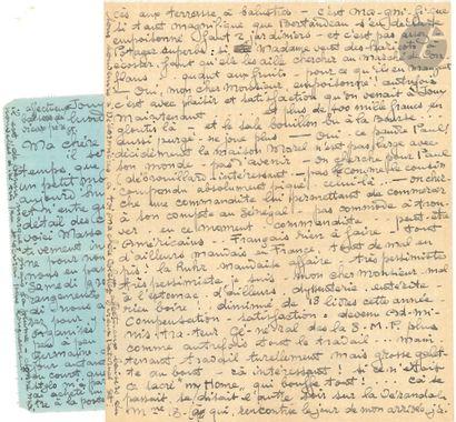 Théophile Alexandre STEINLEN. 6 L.A.S. («St.»...