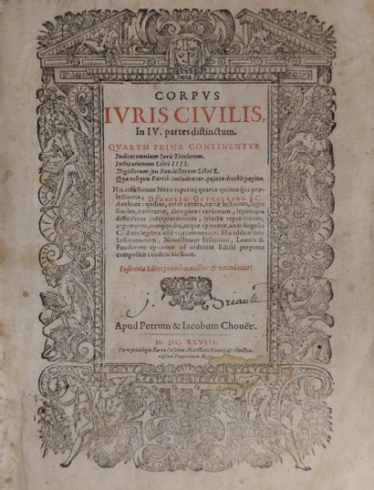 Ensemble de 13 ouvrages anciens : - [MANUSCRIT]...