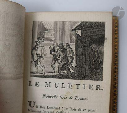 [RECUEIL DES MEILLEURS CONTES EN VERS]. Londres [Liège], 1778. — 4 volumes petit...