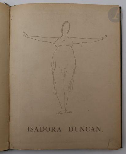 [DUNCAN (Isadora)] - DUNOYER DE SEGONZAC...