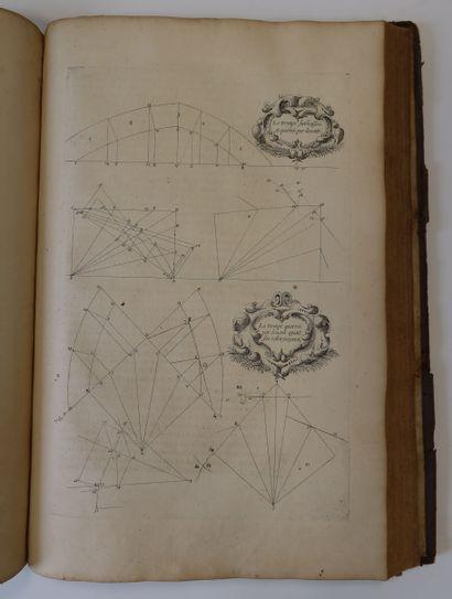 DERAND (François). L'Architecture des voutes, ou l'art des traits, et coupe des...
