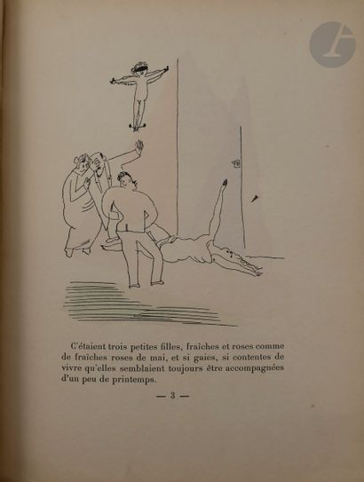 WARNOD (André) - PASCIN (Jules). 3 petites...