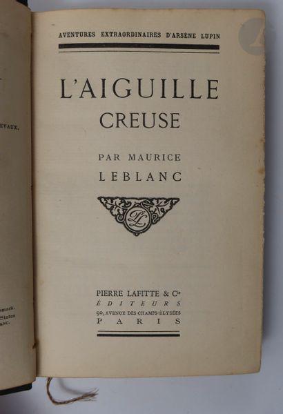 LEBLANC (Maurice). L'Aiguille creuse. Paris...