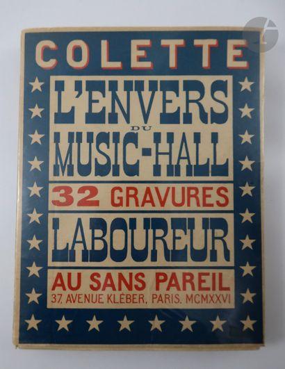 COLETTE. L'Envers du music-hall. Paris :...
