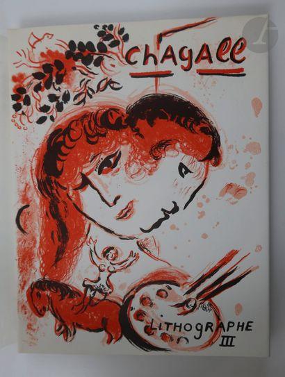 [CHAGALL (Marc)]. Chagall lithographe. Monte-Carlo...