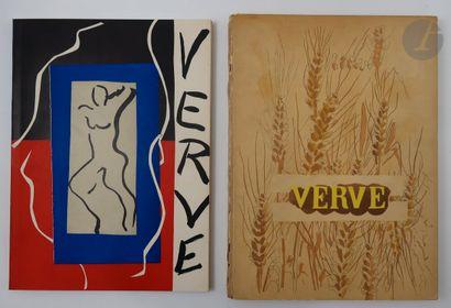 [REVUE]. Verve. Paris : E. Tériade, Éditions...