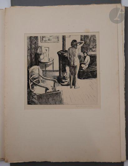 CORNEAU (Eugène). Dix estampes originales...